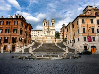 Reporter's notebook: The coronavirus renders Rome silent