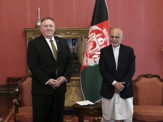 Pompeo to Afghan leaders: Make a deal with the Taliban or risk full U.S. troop pullout