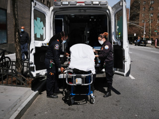 NYC first responders reeling from 'unprecedented' call volume amid coronavirus