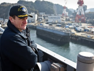 Videos show sailors cheering Navy captain relieved of command after raising alarm on coronavirus