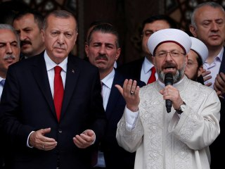 Turkish president backs cleric who said homosexuality 'brings disease'