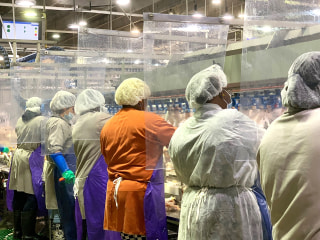 Coronavirus reported in over half of Latino meat, poultry workers in 21 states, CDC says