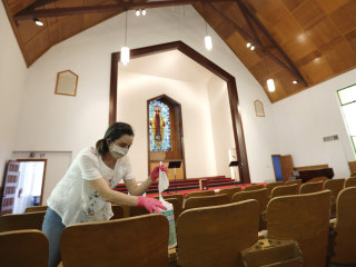 Texas churches feel hope again as reopenings transform in-person services