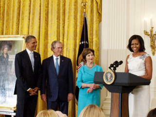 White House portrait ceremony may be the latest casualty of the political divide