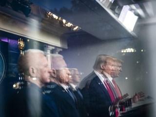 Trump gambles on splitting Biden's base with riot rhetoric