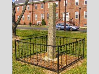 Delaware city removes whipping post once used to punish Black people from public plaza