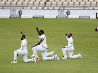 Legendary cricketer fights tears discussing Black Lives Matter