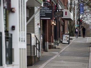 COVID-19 turned college towns into ghost towns and businesses are struggling to survive