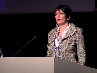 Ghislaine Maxwell a 'sexual predator,' accuser says in emotional court statement