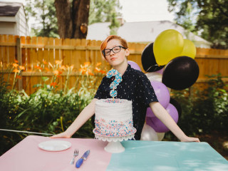 See the sweet 'gender reveal' this mom threw for her trans teen