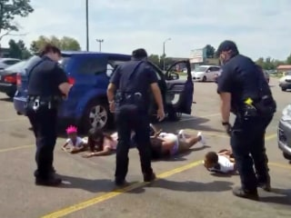 Black women and girls ordered to ground, handcuffed in mistaken stolen-car stop
