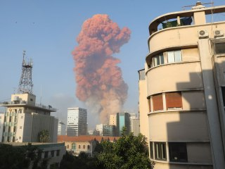 Massive explosion rocks Beirut, causing injuries and widespread damage