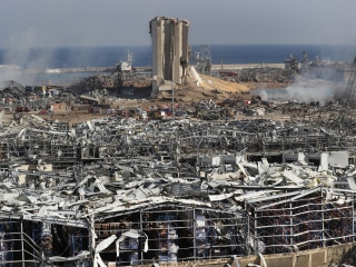 Beirut in state of emergency after blast as death toll rises and rescues continue