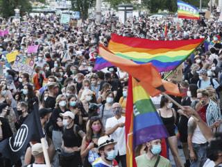 Polish Stonewall? Protesters decry government's anti-LGBTQ attitudes