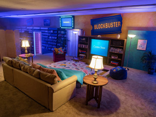 World's last Blockbuster transforms into '90s-themed Airbnb