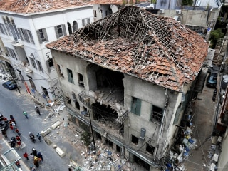 Historic Beirut buildings at risk of collapse after deadly explosion, United Nations warns