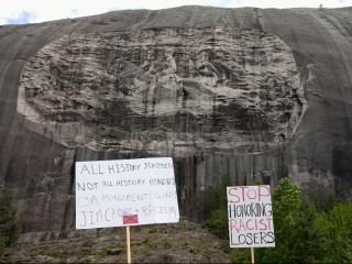 Stone Mountain Park in Georgia closes ahead of white nationalist rally, counterprotest