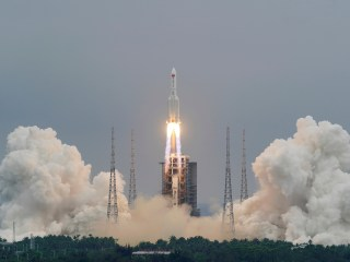 Chinese rocket debris set to hit Earth this weekend — but no one knows where