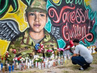 Fort Hood unveils gate and plaque honoring Vanessa Guillén