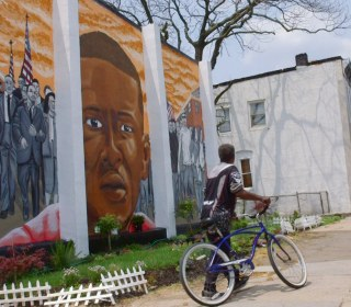 Baltimore Street Artists Bring Murals to Neighborhood of Freddie Gray
