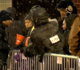 Black Friday Shoppers Brave the Cold in Colorado
