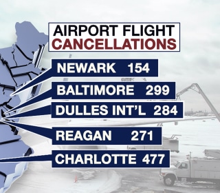 Thousands of Flights Axed as Winter Storm Looms