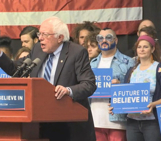 Sanders Explains Importance of Indiana Primary During Rally