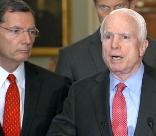 McCain, Reid Exchange Tough Words Over Defense Bill