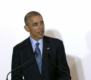 Obama Comments on Arrest of Former Marine in Murder Probe