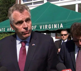 McAuliffe 'Shocked' Over Campaign Investigation