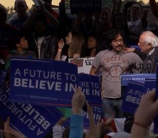 Undocumented Immigrants 'Interrupt' Sanders