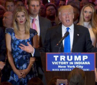 Trump on Indiana: I Won With Everybody Tonight
