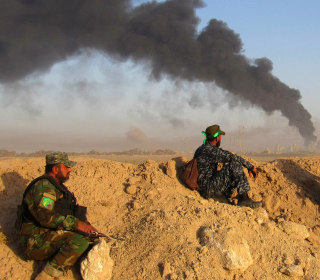 Battle for Fallujah Intensifies as Government Troops Advance