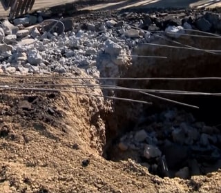 Sinkhole Closes Part of I-5 in California