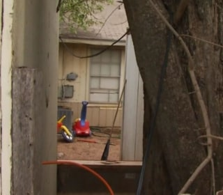 Two Children Found Chained in Texas Backyard