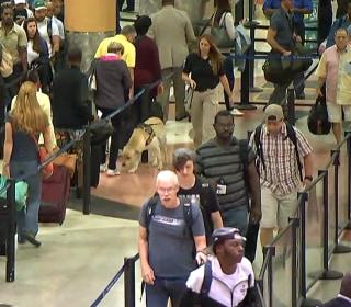 TSA lines move faster than expected as holiday weekend kicks off