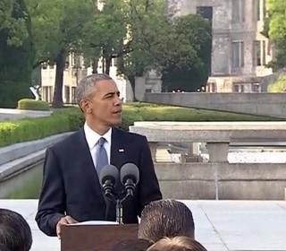 Obama at Hiroshima: 'Their Souls Speak to Us'