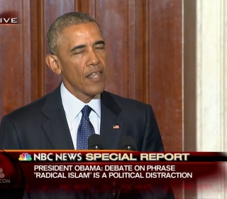 Obama: Painting All Muslims With Same Brush Helps Terrorists
