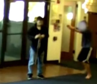 Watch Heroic Student Take Down Assailant
