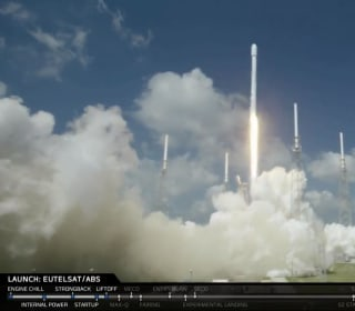 SpaceX Launches Falcon 9 Rocket From Florida