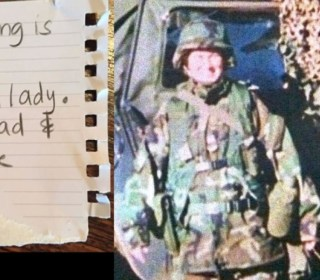 Sexist Note Angers Veteran