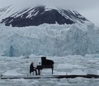 See Concert Pianist Play While Floating in Arctic Ocean