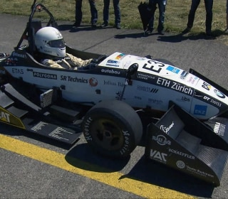 See Electric Car Speeding to World Record