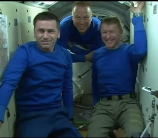 Watch Astronauts Journey From ISS Space Station Back to Earth