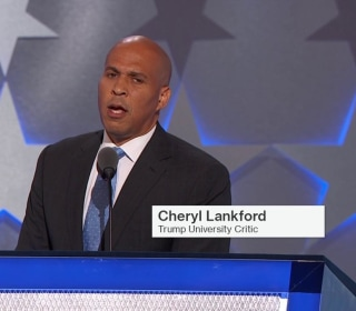 Booker: 'We Are Called on to be a Nation of Love'