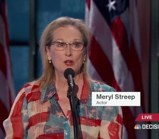 Meryl Streep at DNC: 'You People Have Made History'