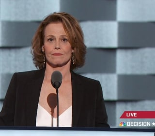 Sigourney Weaver Hits Trump on Climate Change