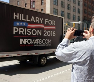 It's Just a Job: Anti-Hillary Truck Driver Winds Through Cleveland