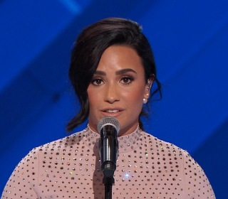 At DNC Demi Lovato Endorses Clinton, Champion for Mental Health Issues