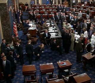 Protesters Disrupt Senate Vote on Genetically Modified Food